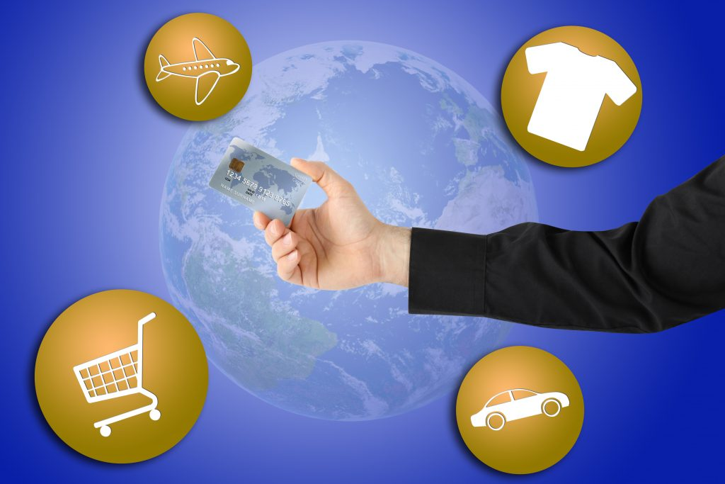 Make purchases with corporate credit card