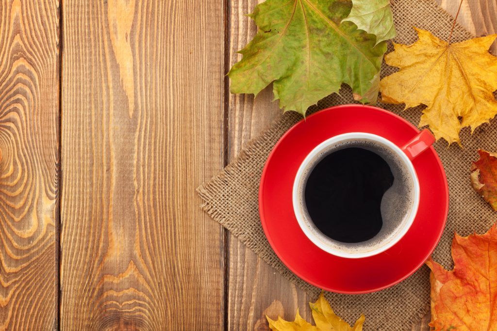 Coffee Cup in Autumn