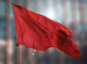 red flag for fraud, misuse, abuse in business transactions