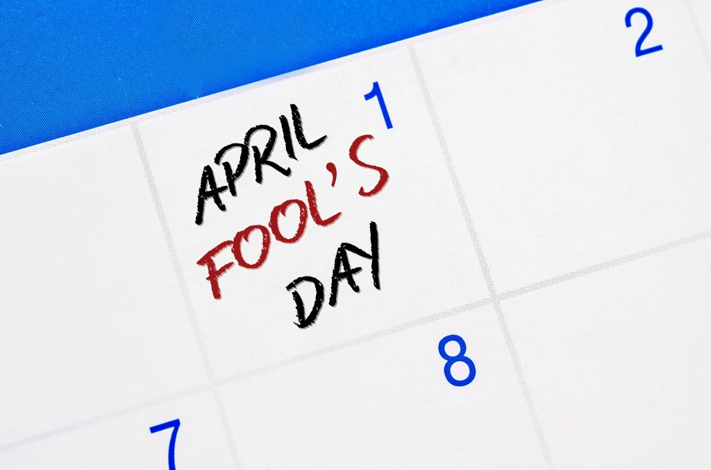 Calendar April Fool's Day