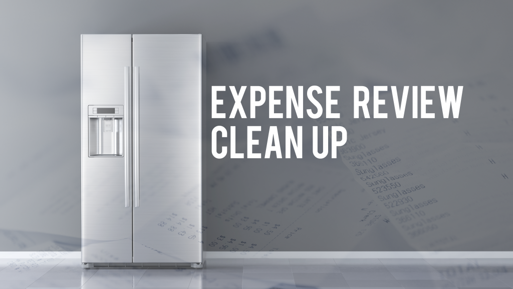 clean up expense reviews